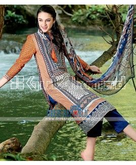 Gul Ahmed Buy Online - Fancy Summer Lawn Collection 2015
