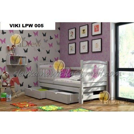 LPW 005, Viki drevená posteľ ,komplet