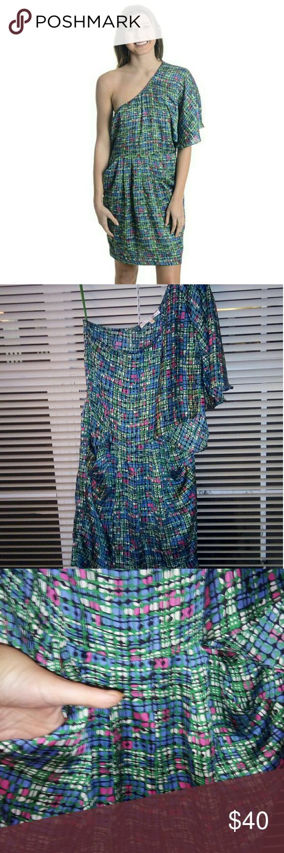 The Chrissy Snow Dress ( Three's Company) Sz S. Perfect. Stitch Fix. Collective Concepts. Never worn. Washed once and hung to dry. N/S pet free home. armpit to armpit is appx 16 inches ( hard dress to measure);Very top to very bottom is appx 36 inches. Stitch Fix Dresses