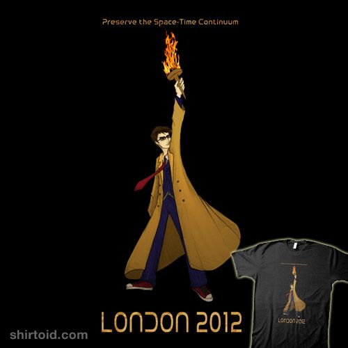 Preserve the Space-Time Continuum! - Sign the petition to have David Tennant light the Olympic flame in 2012. http://www.petitiononline.com/Drwh2012/petition.html