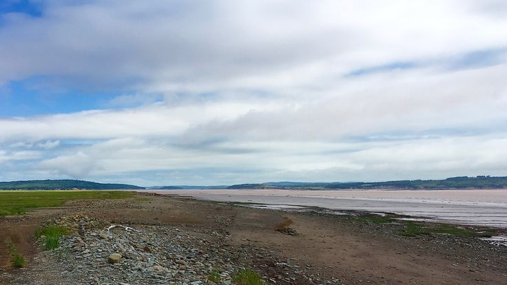 Low Tide at the Bay Of Fundy #BeautifulNovaScotia