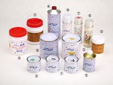 材料について | ディップアート(アメリカンフラワー)について | トウペディップアート協会 - http://dipart.jp/dipart/material.html