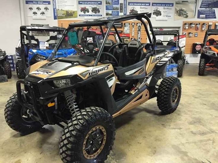 New 2017 Polaris RZR 1000 GOLD EDITION ATVs For Sale in Tennessee. 2017 Polaris RZR 1000 GOLD EDITION, What can we say but WOW!!!! If cost isn't your only consideration. You will want this well equipped MACHINE......Call our store now very limited stock ....................423-238-4321.....................