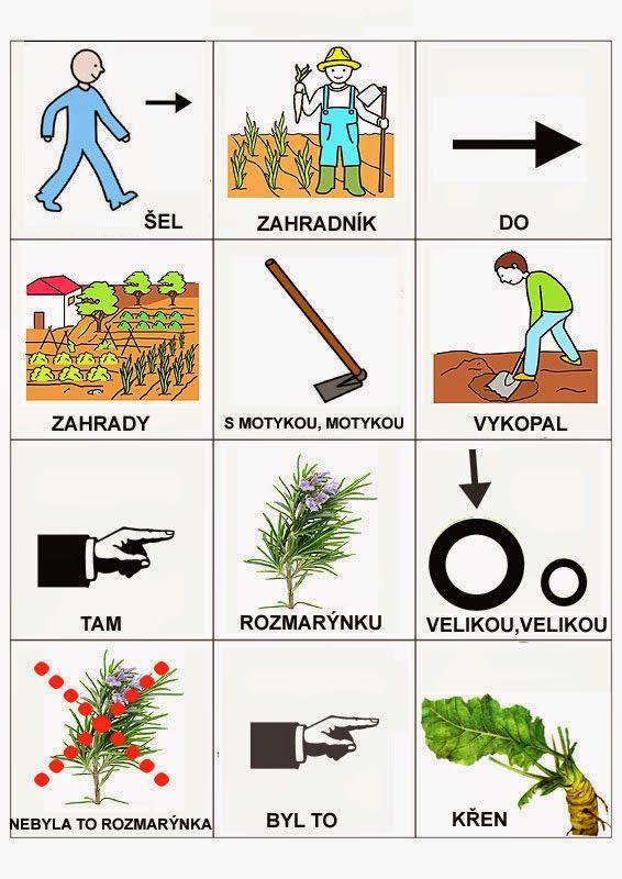 Pro Štípu: Sel zahradnik do zahrady