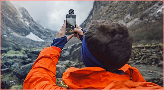 Feiyu-Tech 360° Kamera: Insta360 Air für Android Faszinierende 360-Grad-Bilder und VR-Videos mit dem Smartphone, Live-Streaming auf Social Media - all dies ermöglicht die Feiyu-Tech Kamera Insta360 Air für Android https://www.atv-quad-magazin.com/aktuell/feiyu-tech-360-kamera-insta360-air-fuer-android/ #Ausrüstung #Photo #Video #Kamera #Gimbal #ATVQUADMagazin