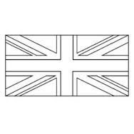 Image result for union jack outline template