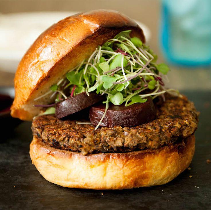 Recipe: Vegan Lentil Burger