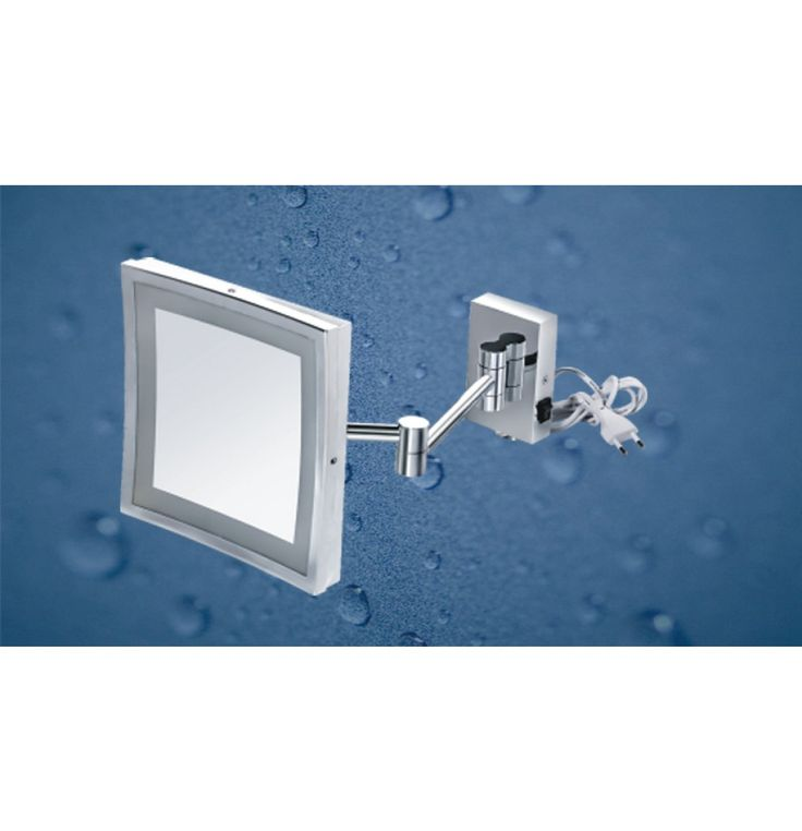 """Kich Bathroom Mirror with LED Light 8.5"""" In Glossy Finish"""