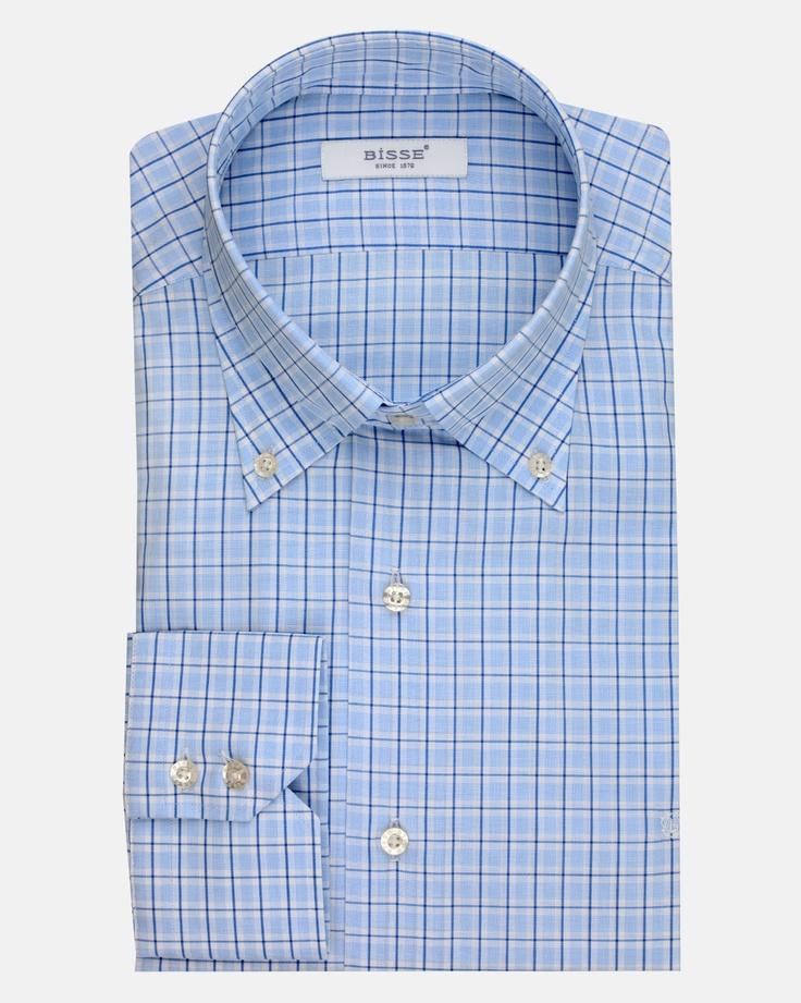Mavi Kareli Gömlek / Blue Checked Shirt http://www.bisse.com/p/99/mavi-kareli-gomlek?variantId=356