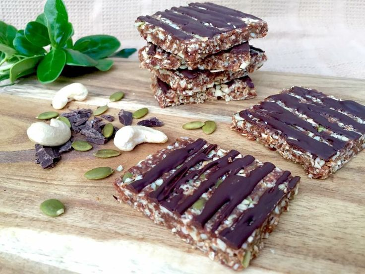 Chocolate and mint are a match made in heaven and this slice from is so quick and easy to whip up. At 126 calories per serve it makes the perfect healthy snack  