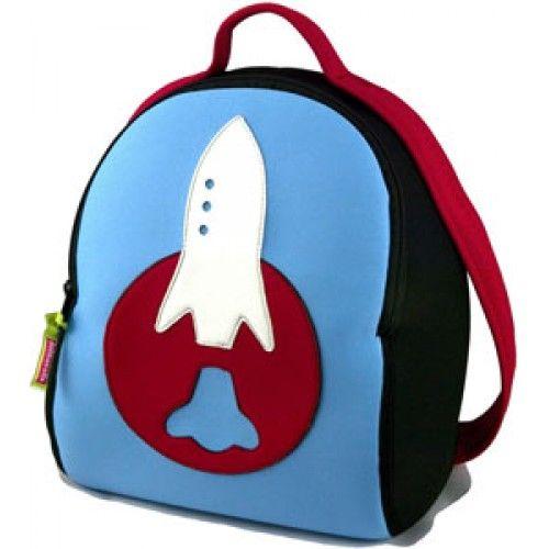 Regalos Infantiles - Mochilas para niños: Mochila cohete - Kids backpacks -