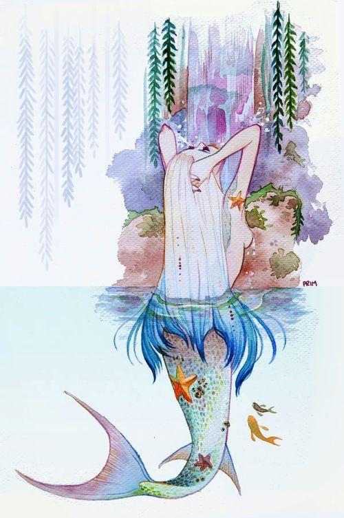 Mermaid Paint Brush