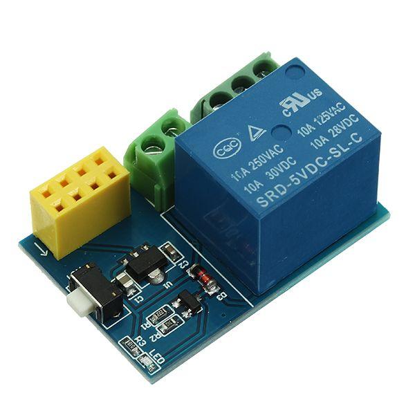 3Pcs ESP8266 ESP-01S Módulo de Relé Control remoto Switch Phone APP DIY Proyecto Diseño Kit
