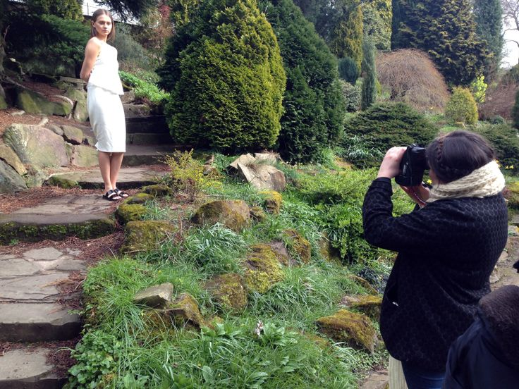 Behind the Scenes of the Ceremony Collection Campaign Shoot
