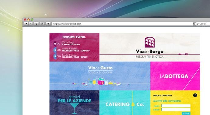 www.viadelborgo.it