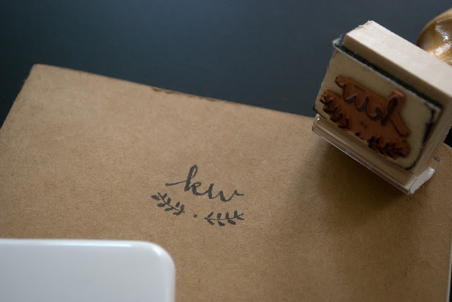 I TOTALLY wanna have a stamp made.