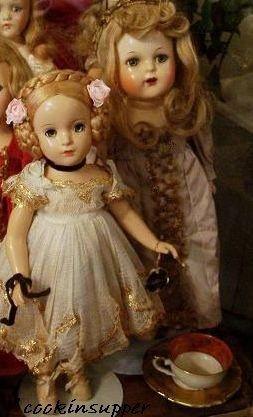 Madame Alexander doll Karen Ballerina Sleeping Beauty Princess Elizabeth mold 1930s 1940s