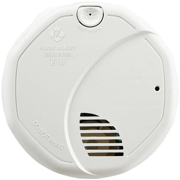 First Alert 1039842 Dual Sensor Alarm With 10 Year Battery Fire Alarm Smoke Alarms Alarm