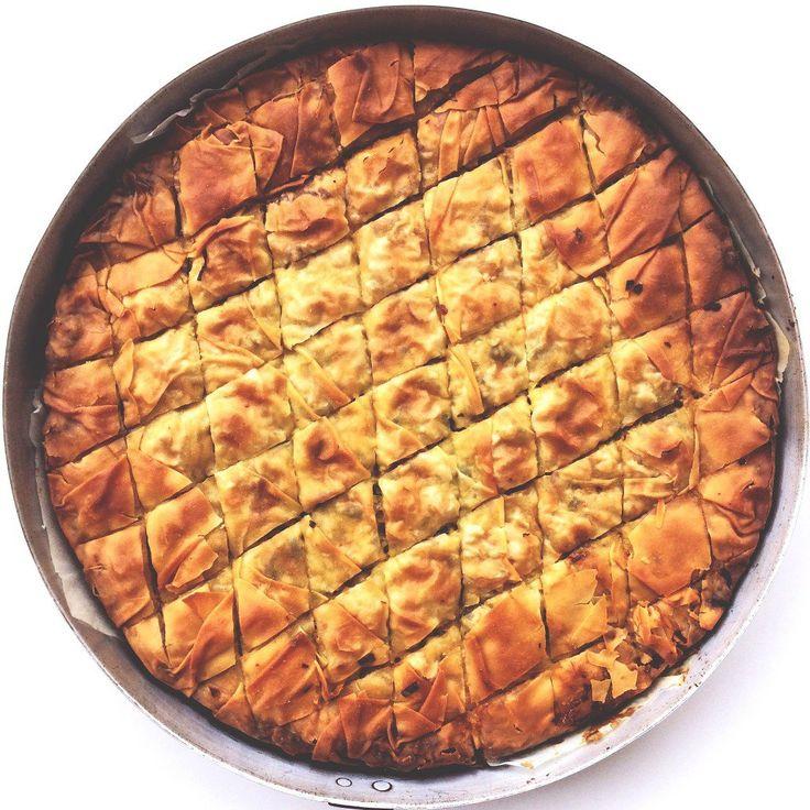 Prasopita- Leek & Feta pie recipe