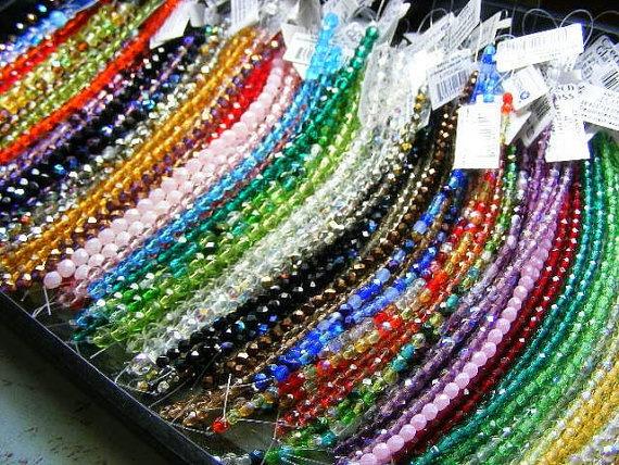 Czech Glass Beads Lot by BluePeacockBeads on Etsy, $97.00