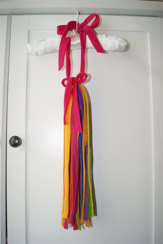 Unicorn Tail Rainbow Youth Adult by POGOandPATCH on Etsy
