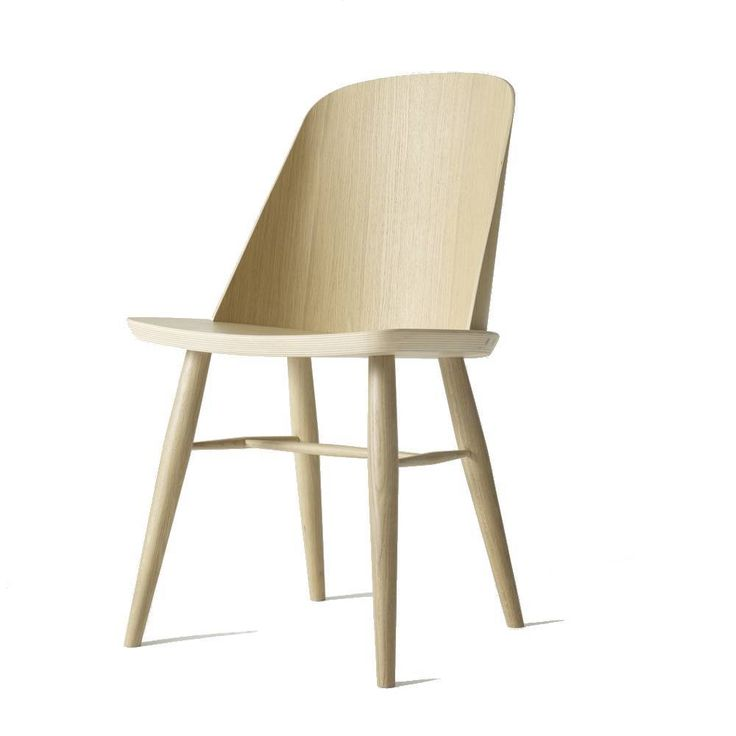 """<div>Less is more with Synnes Chair, a distinctively modern take on the classic Scandinavian dining chair from one of the regions most exciting young designers, Falke Svatun. The chair came to life when the Norwegian had the idea of inserting a sheet of plywood into the seat, with a curved backrest to maximize sturdiness. A graduate of Norm Architects and Sren Rose Studio, Falke established his studio in 2014.</div><div><span style=""""font-family: thewavelight, Arial; font-size…"""