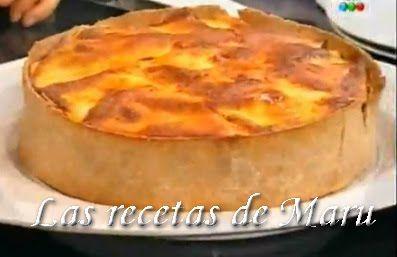 Las recetas de Maru Botana: Tarta de verduras grilladas
