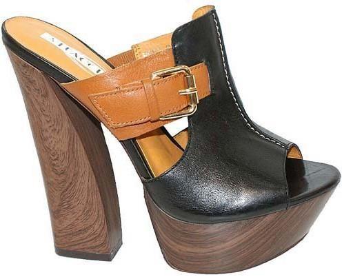 Авангардная женская обувь