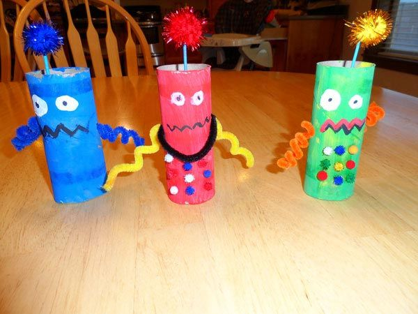Best 25 robot crafts ideas on pinterest robots for kids for Craft ideas using empty toilet paper rolls