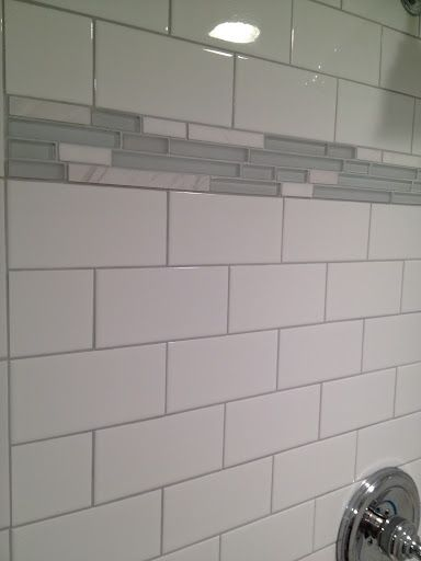 silver shadow grout with white