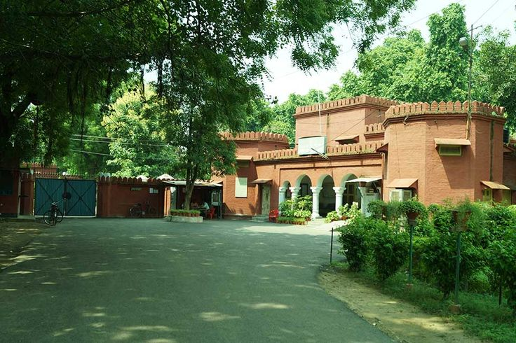 Abdullah Hall – Named after Sheikh Abdullah.  Founder of the women's college. - Abdullah Hall Aligarh Muslim University