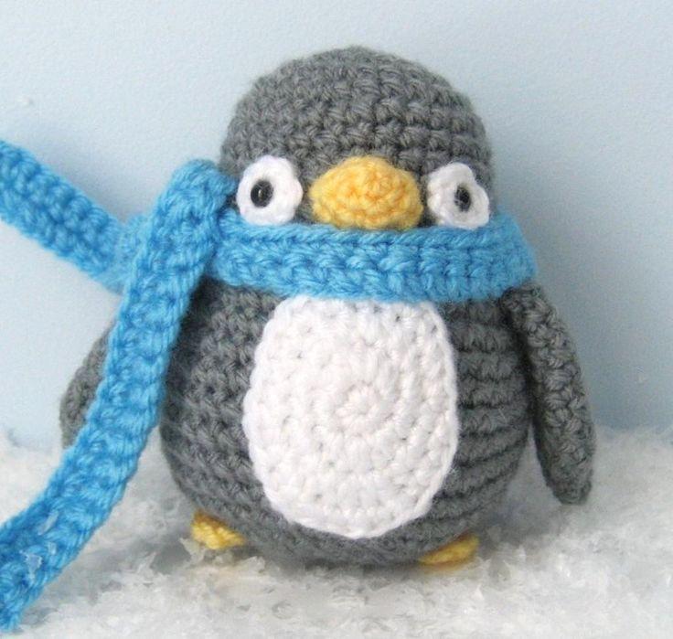 Crocheting: Penguin Crochet Pattern