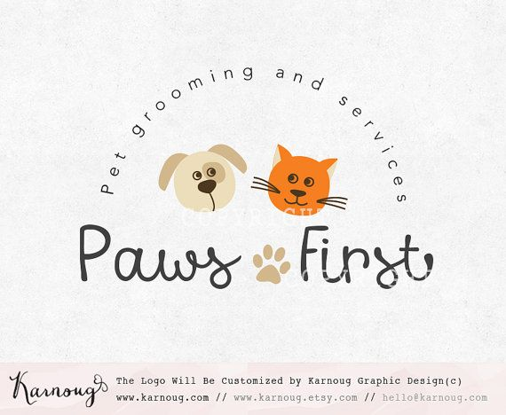 Make one special photo charms for your pets, 100% compatible with your Pandora bracelets. Pet Logo Dog Logo Cat Logo Paw Logo Boutique Logo by karnoug
