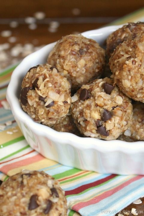 Quick, healthy, delicious snack bites - full of protein and grains to give you tons of energy. Freezes well for grab-and-go convenience.
