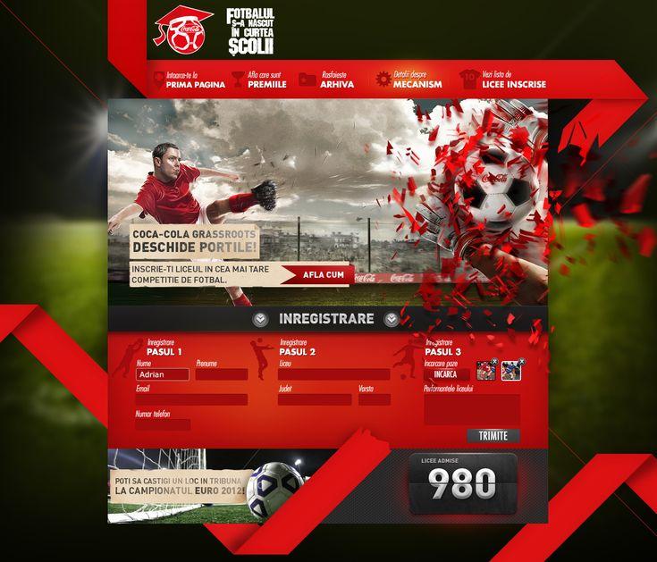 Soccer Web Design