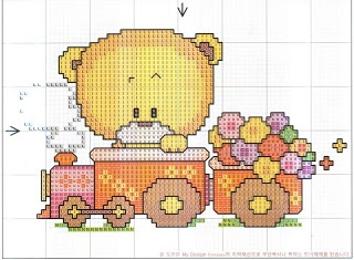 osito: Point, Bears Training, Crosses Stich, Cross Stitch, Crosses Stitches, Stitches Baby, Cross