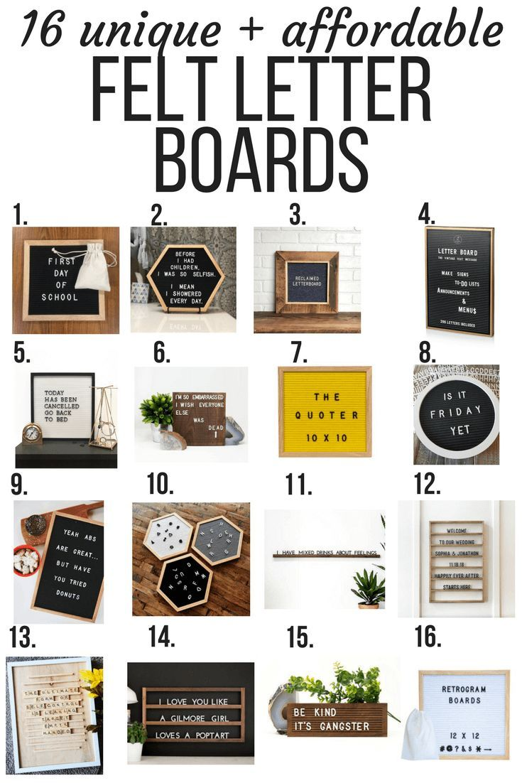 If You Ve Ever Wondered Where To Buy A Felt Letter Board For Your Home This Is The Post For You Tons Of Resources Felt Letter Board Felt Letters Letter Board