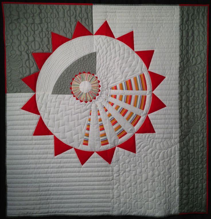 549 best QUILT CIRCLES images on Pinterest   Patchwork embutido ... : modern designer quilts - Adamdwight.com