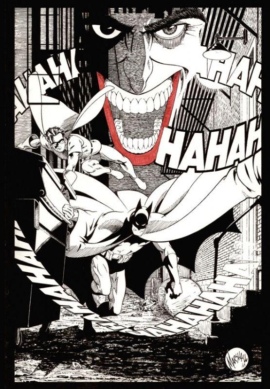 Batman And Robin By Marshall Rogers Coloring BookBatman