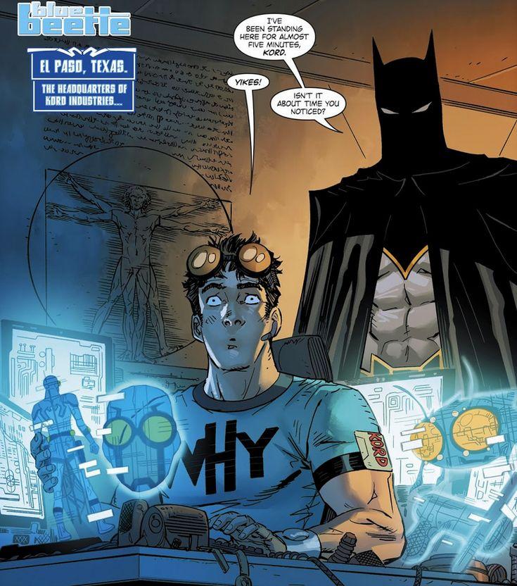 Ted Kord / Blue Beetle - DC Comics