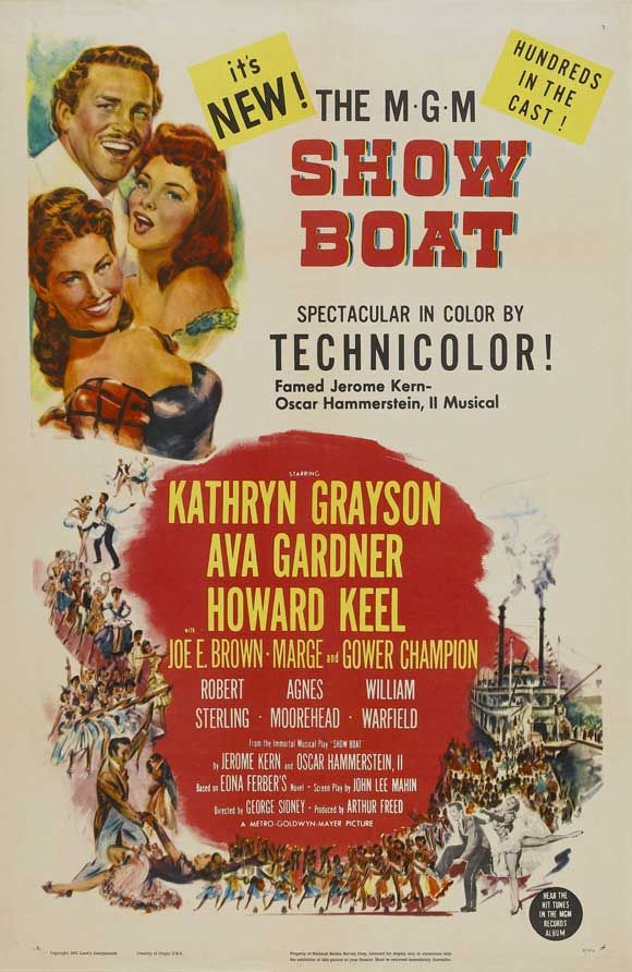 Show Boat movie poster | Movie Posters Television (TV) Posters Broadway Posters Pulp Posters ...