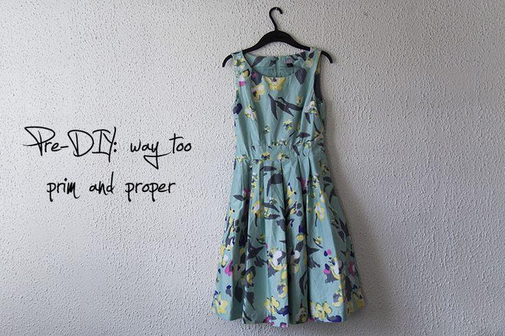 Blog post acerca de cómo me volví un vestido viejo y sin amor en una falda