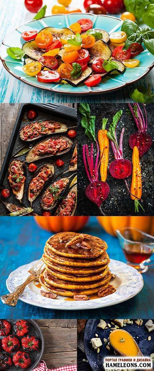 Еда из осенних овощей - осенние блюда - фотосток | Tasty Autumn Food