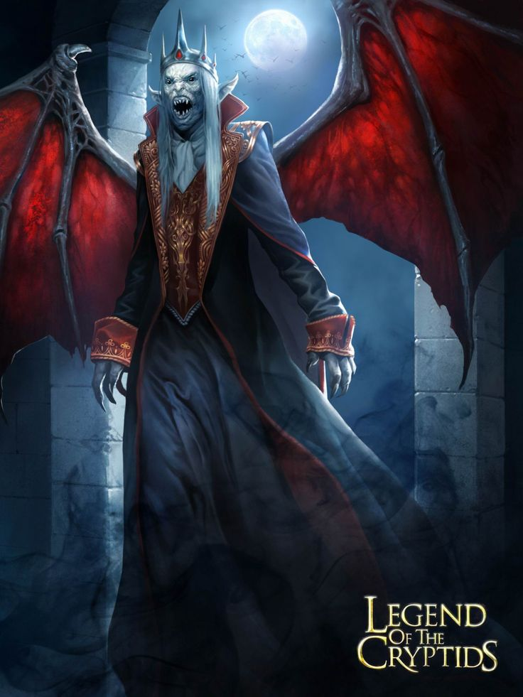 Artist: Unknown name aka watersullivan - Title: Legend Of The Cryptids, Applibot Inc. - Card; Unknown