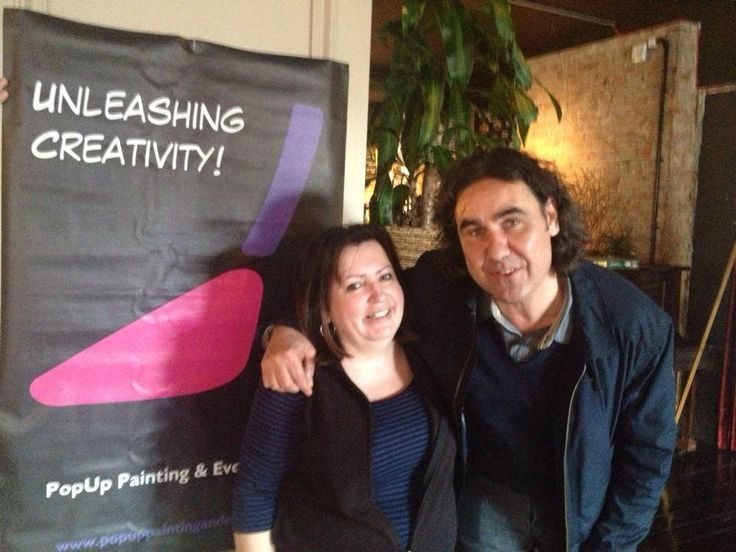 #throwbackthursday to when our Managing Director met comedian Micky Flanagan in Dulwich!