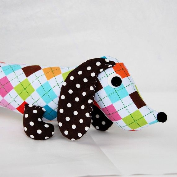Wiener Dog Plush Toy Dachshund GLORIA