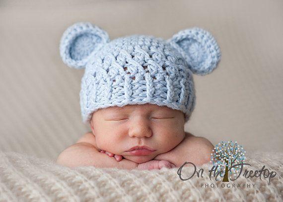 Newborn Baby Boy Hat 0 1 Months Baby Boy Monkey Hat Crochet