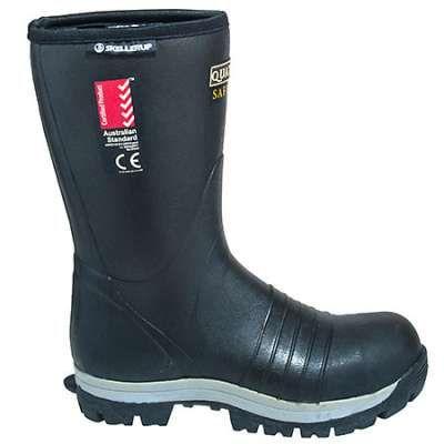 Skellerup Boots: Men's Steel Toe FQS1 Insulated EH Waterproof Rubber Boots - Steel Toe Rubber Boots - Men's Steel Toe Boots - Footwear