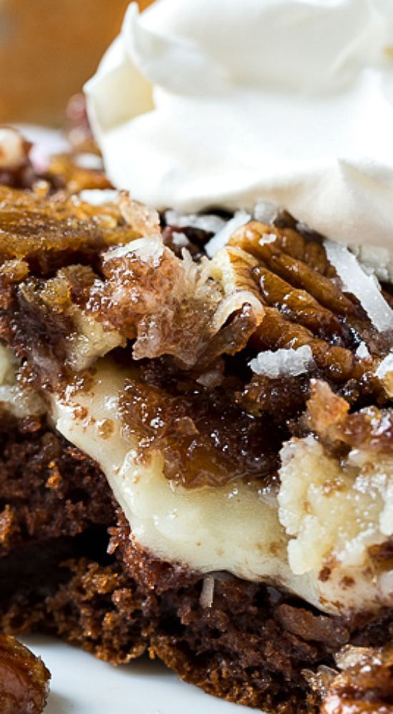 Doctored German Chocolate Cake Mix Recipes