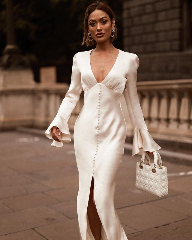Pin by D J on Ohhhh my | Fashion, White dress, Formal dresses